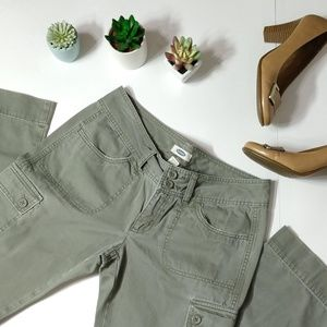 Old Navy   Vintage Soft Green Cargo Pants